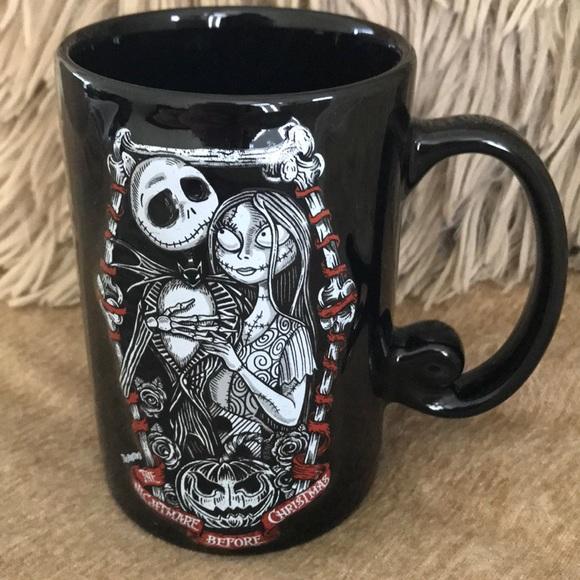 Nightmare Before Christmas Coffee Mug.Disney Nightmare Before Christmas Mug